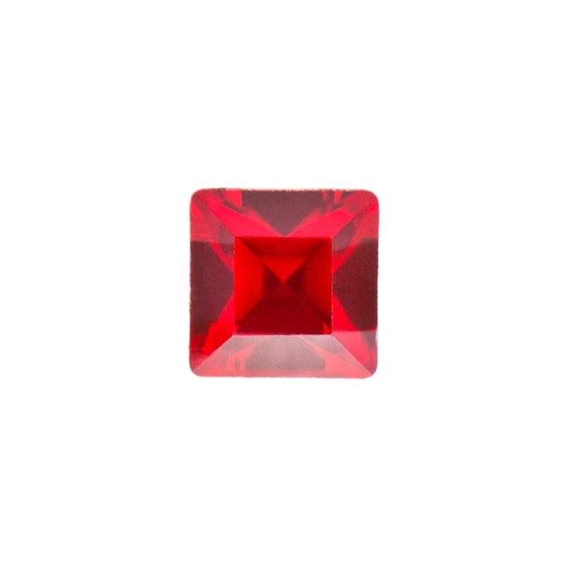 2mm Light Siam F (227) Ruudukujuline 4428 Ehte Kristall Swarovski Elements