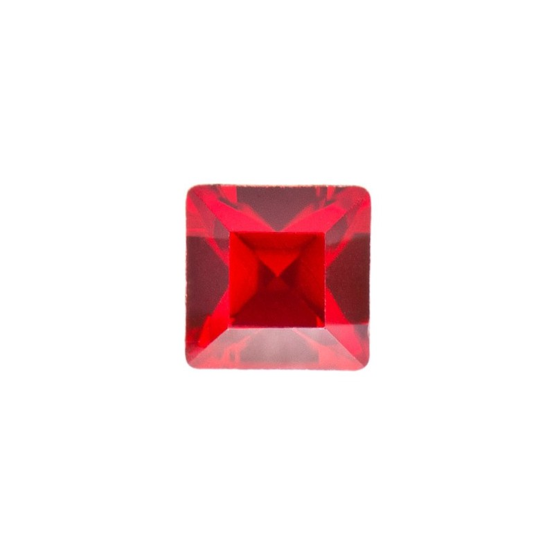 2mm Light Siam F (227) Square 4428 Fancy Stone Swarovski Elements