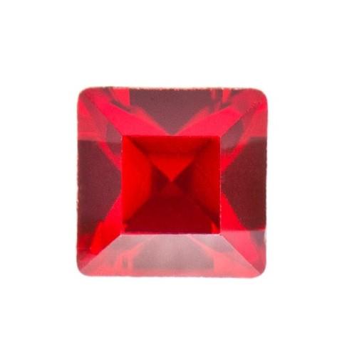 2mm Light Siam F (227) Square 4428 Fancy Stone Swarovski Elements