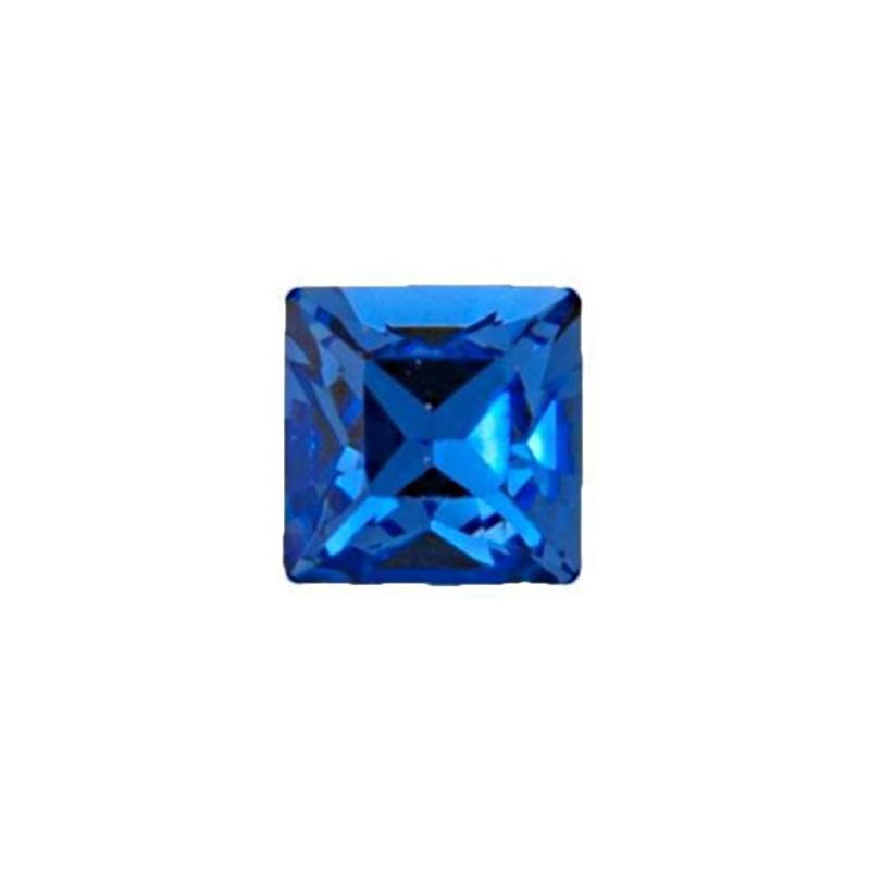 2mm Sapphire F (206) Ruudukujuline 4428 Ehte Kristall Swarovski Elements