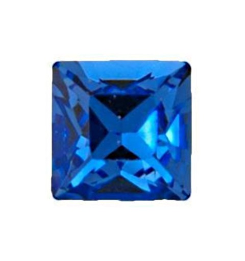 2mm Sapphire F (206) Square 4428 Fancy Stone Swarovski Elements