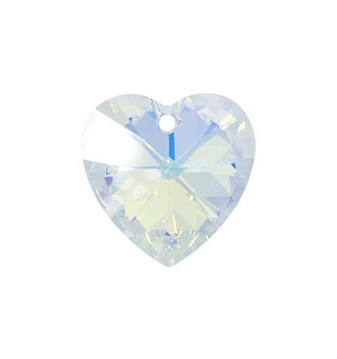 28MM Crystal AB (001 AB) XILION Heart Pendants 6228 SWAROVSKI ELEMENTS