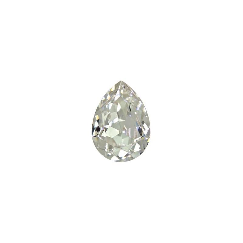 18x13mm Crystal F (001) Грушевидный Кристалл для украшений 4320 Swarovski Elements