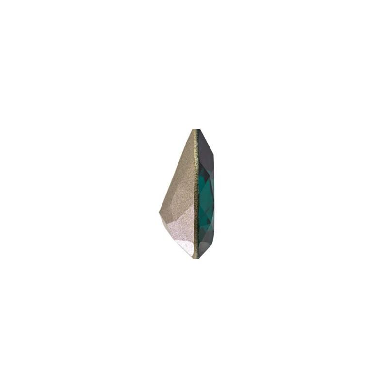 18x13mm Emerald F (205) Pirnikujuline Ehete Kristall 4320 Swarovski Elements