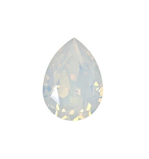18x13mm White Opal F (234) Pear-Shaped Fancy Stone 4320 Swarovski Elements