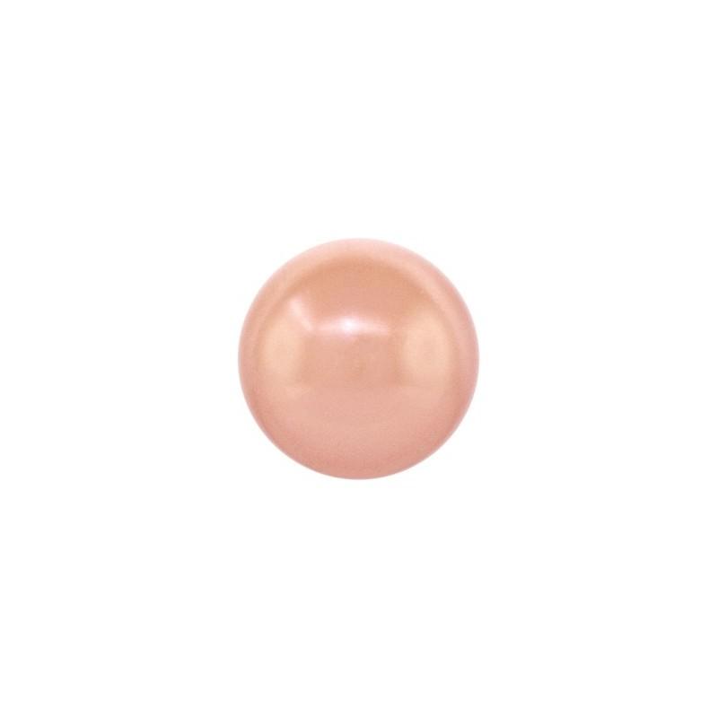4MM Roos Kuld Crystal Ümmargune Pärl (001 769) 5810 SWAROVSKI ELEMENTS