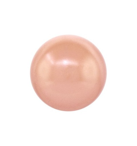 3MM Roos Kuld Crystal Ümmargune Pärl (001 769) 5810 SWAROVSKI ELEMENTS