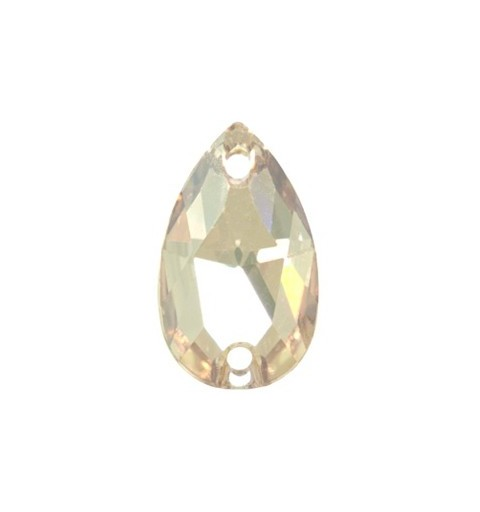 18x10.5MM CRYSTAL GOLDEN SHADOW F (001 GSHA) 3230 Drop SWAROVSKI ELEMENTS