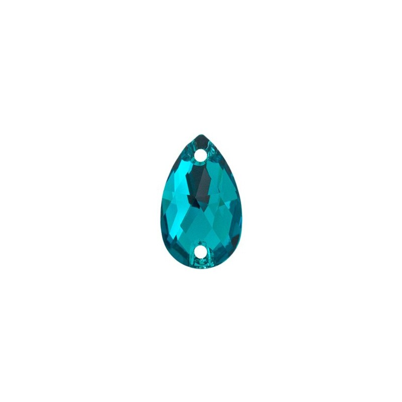 12x7MM Blue Zircon F (229) 3230 Капля SWAROVSKI ELEMENTS