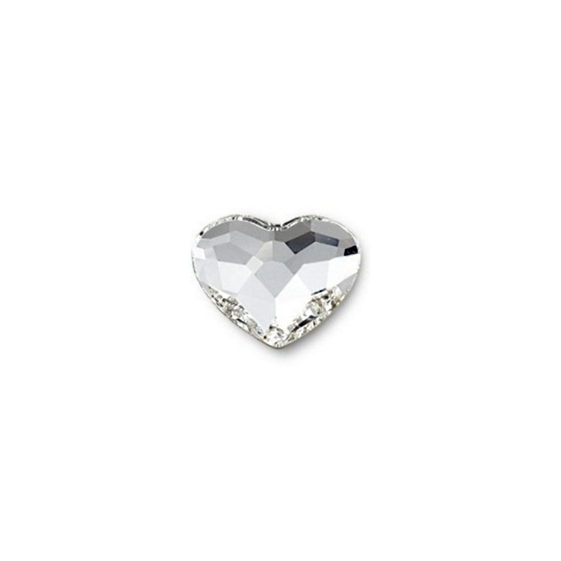 10MM Crystal F (001) 2808 Heart SWAROVSKI ELEMENTS