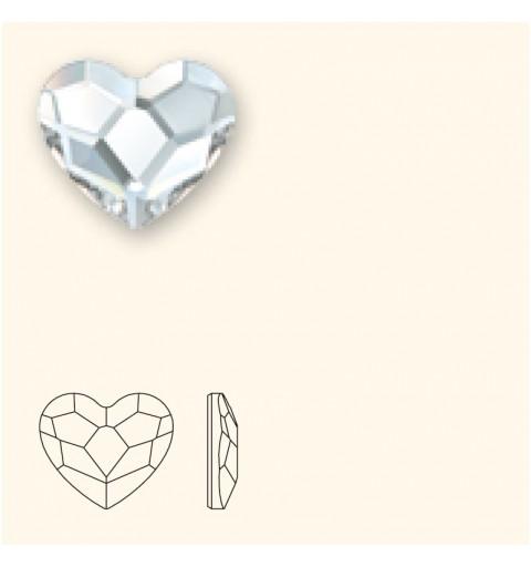 10MM Crystal F (001) 2808 Heart SWAROVSKI ELEMENTS