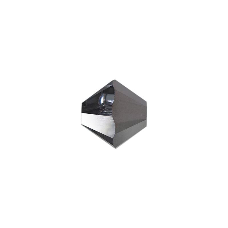 4MM Crystal AB (001 AB) 5328 XILION Bi-Cone Beads SWAROVSKI ELEMENTS