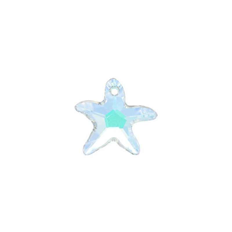 40MM Crystal AB (001 AB) Starfish Pendants 6721 SWAROVSKI ELEMENTS