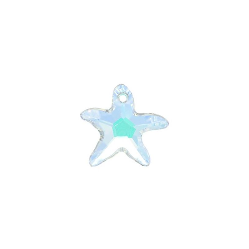 40MM Crystal AB (001 AB) Starfish Ripatsid 6721 SWAROVSKI ELEMENTS