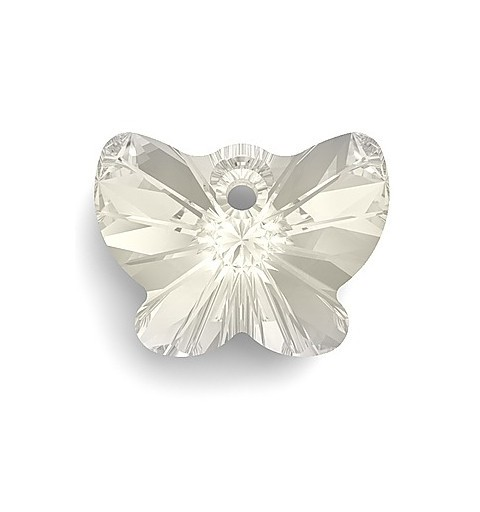 18MM Crystal Moonlight (001 MOL) Pendants Butterfly 6754 SWAROVSKI ELEMENTS