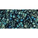 TC-01-84 Metallic Iris Green/Brown 1.5mm TOHO кубический бисер