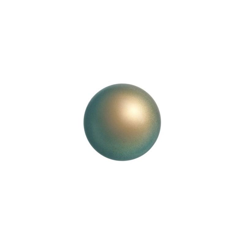 4MM Crystal Iridescent Green Pearl (001 930) 5810 SWAROVSKI ELEMENTS