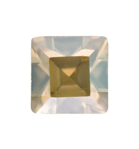 2mm Crystal Golden Shadow F (001 GSHA) Square 4428 Fancy Stone Swarovski Elements