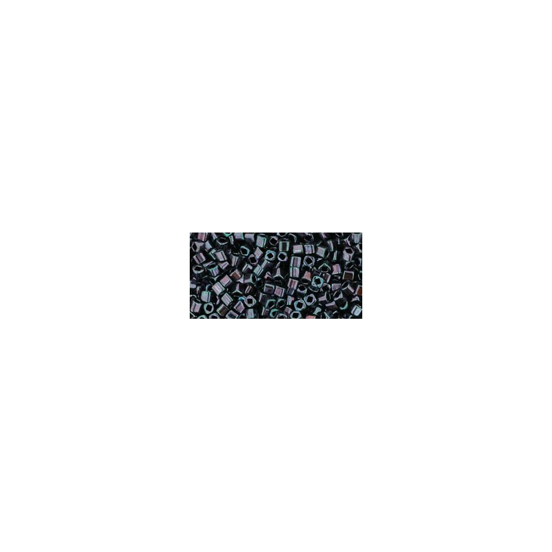 TC-01-90 Metallic - Amethyst Gun Metal seed beads