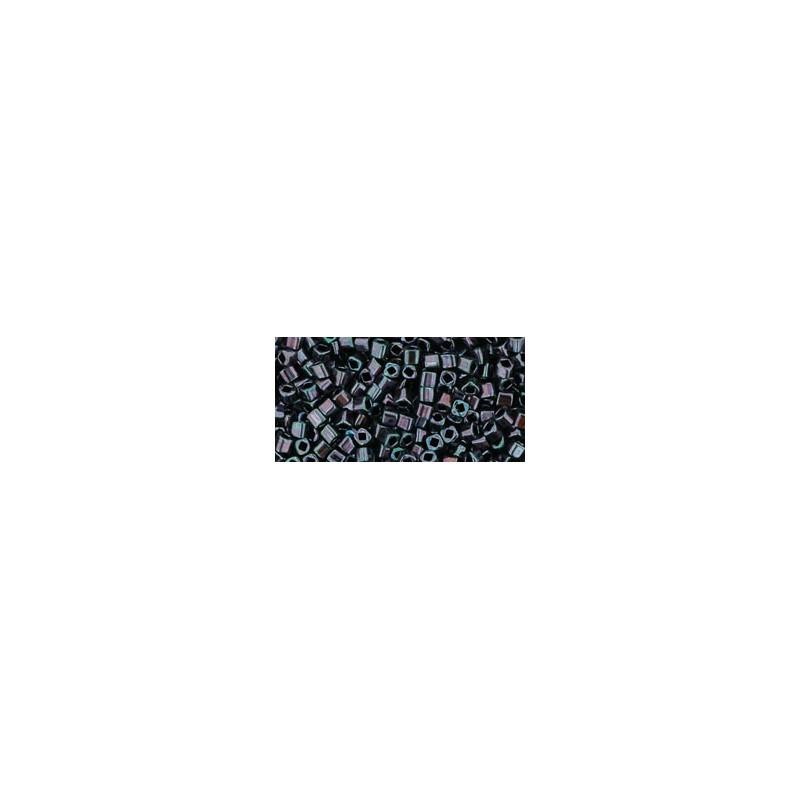 TC-01-90 Metallic - Amethyst Gun Metal seed beads