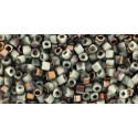 TC-01-Y856F HYBRID Frosted Lt Beige Apollo seed beads