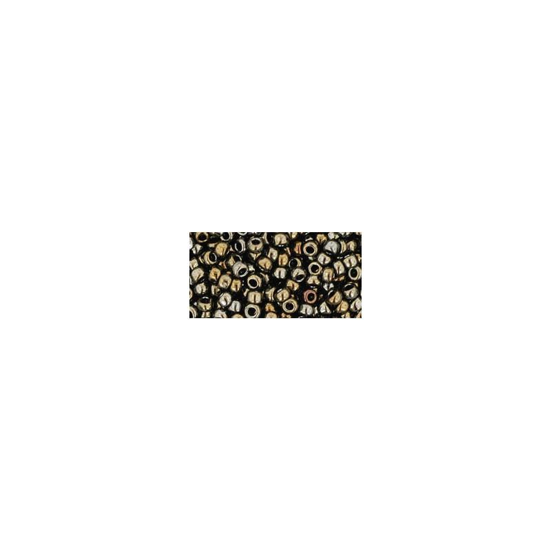 TR-08-83 Metallic Iris Brown Seed Beads