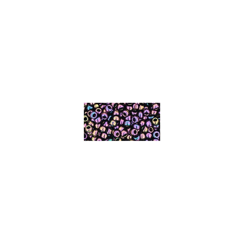 TR-08-85 Metallic Iris Purple Seed Beads