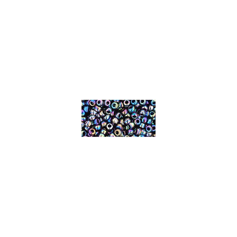 TR-08-86 Metallic Rainbow Iris Seed Beads