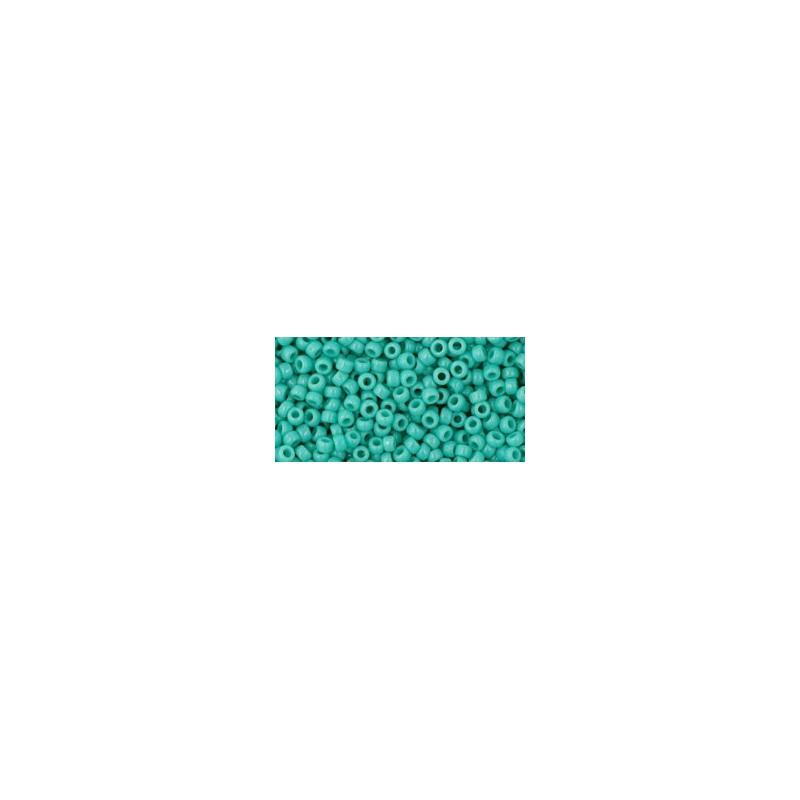 TR-11-55 Opaque Turquoise TOHO Seed Beads