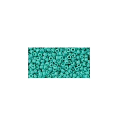 TR-11-55 Opaque Turquoise TOHO Seemnehelmed