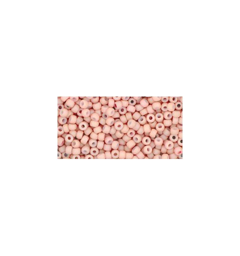 TR-11-764 Opaque-Pastel-Frosted* Shrimp TOHO Seed Beads