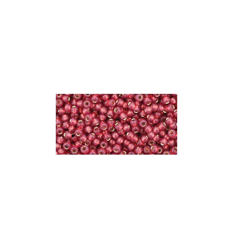 TR-11-2113 Silver-Lined Milky Pomegranate TOHO Seed Beads