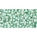 TR-11-PF2116 Permanent Finish - Silver-Lined Milky Light Aqua TOHO Seed Beads