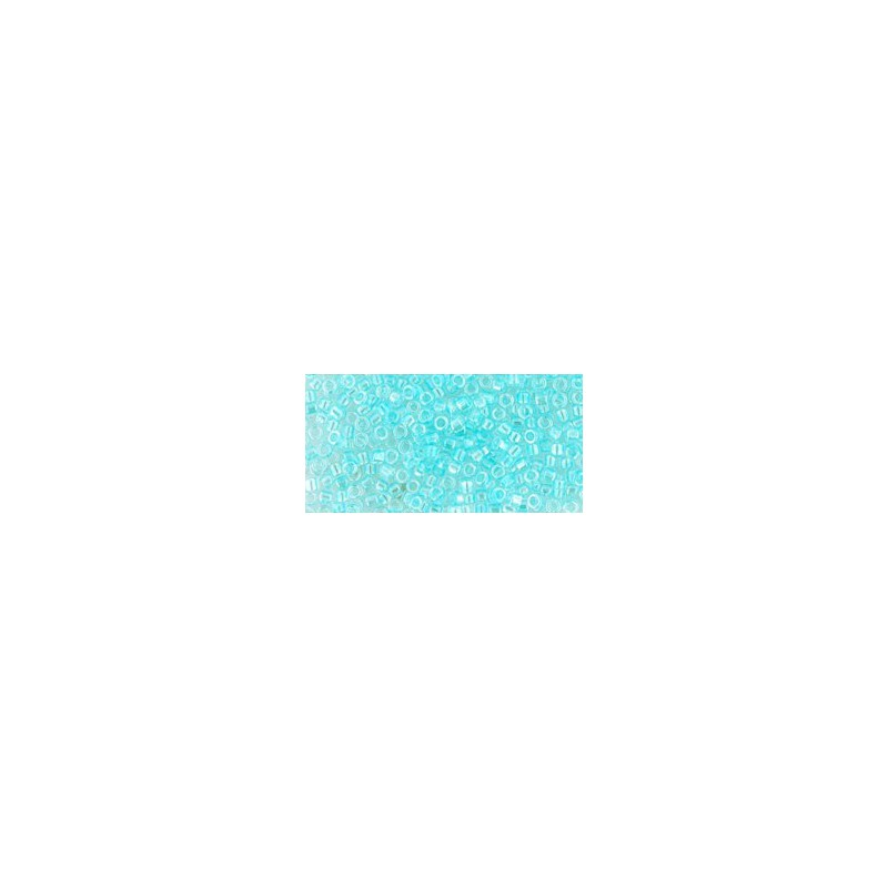 TT-01-170D Trans-Rainbow Aqua Frost Seed Beads