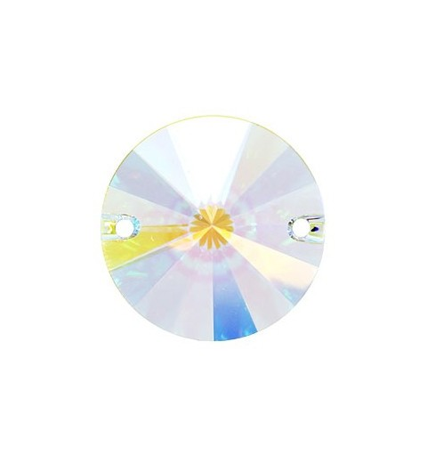 14MM Crystal AB F (001 AB) 3200 Rivoli SWAROVSKI ELEMENTS