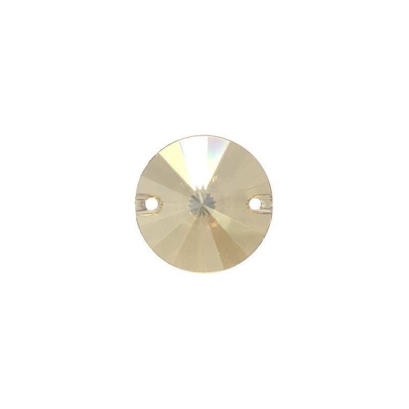 14MM Crystal Golden Shadow F (001 GSHA) 3200 Rivoli SWAROVSKI ELEMENTS