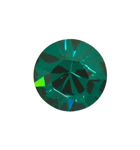 PP9 (~1.55mm) Emerald F (205) 1028 Chaton SWAROVSKI ELEMENTS