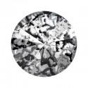 14MM Crystal Black Patina F (001 BLAPA) 1122 Rivoli SWAROVSKI ELEMENTS