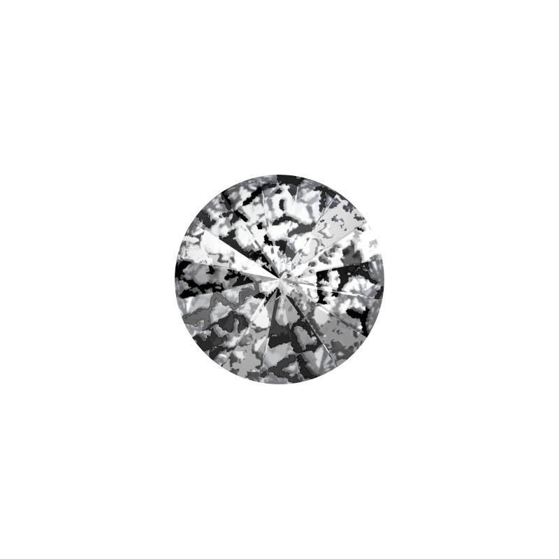 12MM Crystal Black Patina F (001 BLAPA) 1122 Rivoli SWAROVSKI ELEMENTS