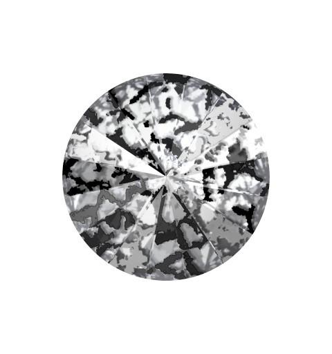 SS47 (~10.70mm) Crystal Black Patina F (001 BLAPA) 1122 Rivoli SWAROVSKI ELEMENTS