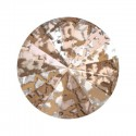 14MM Crystal Rose Patina F (001 ROSPA)  1122 Rivoli SWAROVSKI ELEMENTS