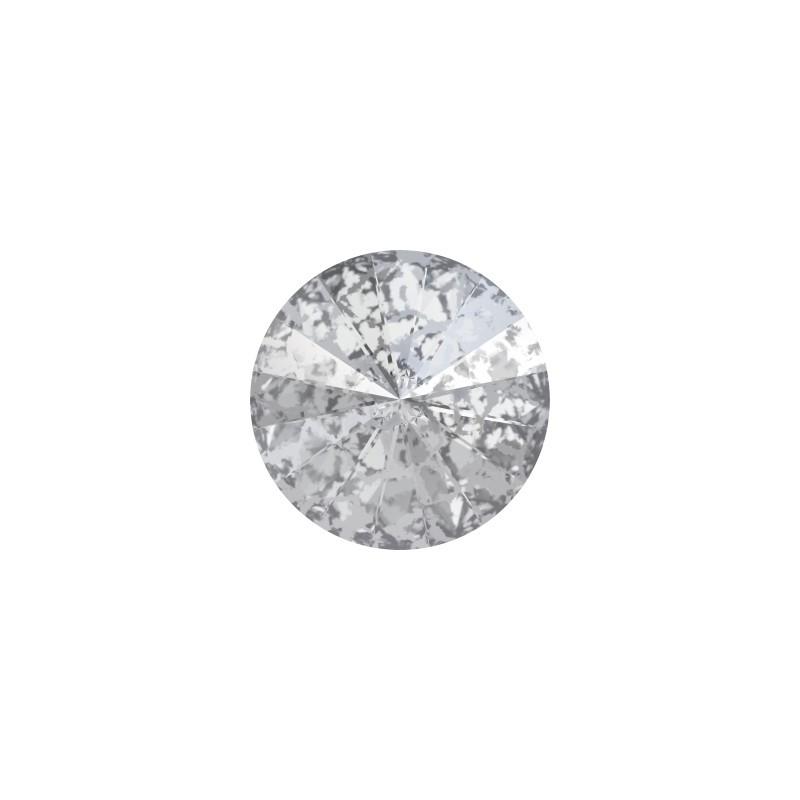 SS39 (~8.25mm) Crystal Silver Patina F (001 SILPA) 1122 Rivoli SWAROVSKI ELEMENTS