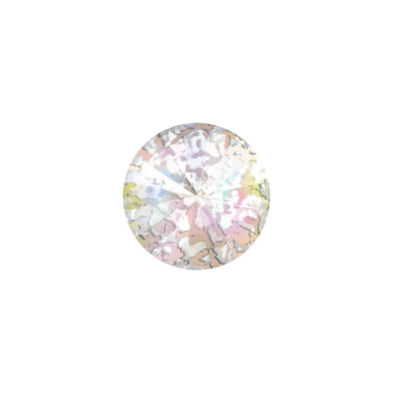 14MM Crystal White Patina F (001 WHIPA) 1122 Rivoli SWAROVSKI ELEMENTS