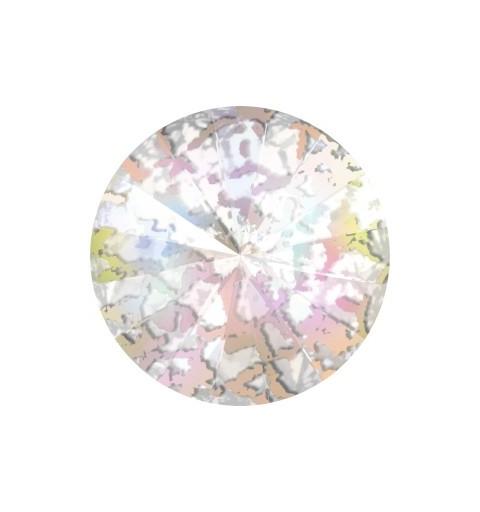 SS39 (~8.25mm) Crystal White Patina F (001 WHIPA) 1122 Rivoli SWAROVSKI ELEMENTS