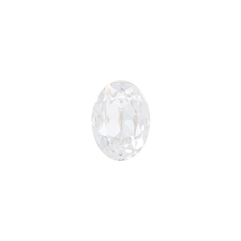 14x10mm Crystal F (001) Oval Кристалл для украшений 4120 Swarovski Elements