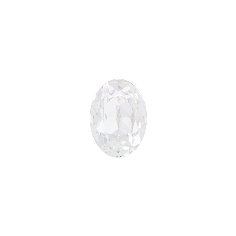 14x10mm Crystal F (001) Oval Fancy Stone 4120 Swarovski Elements