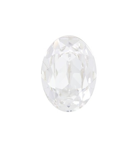 25x18mm Crystal F (001) Oval Fancy Stone 4120 Swarovski Elements