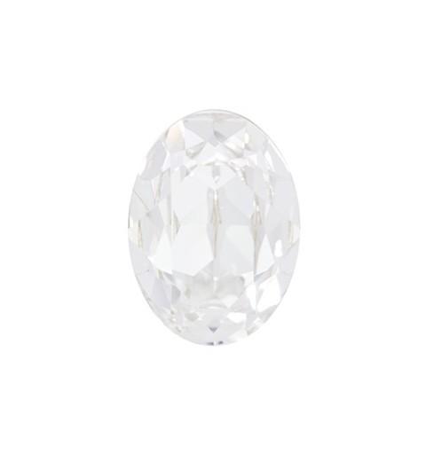 25x18mm Crystal F (001) Oval Кристалл для украшений 4120 Swarovski Elements