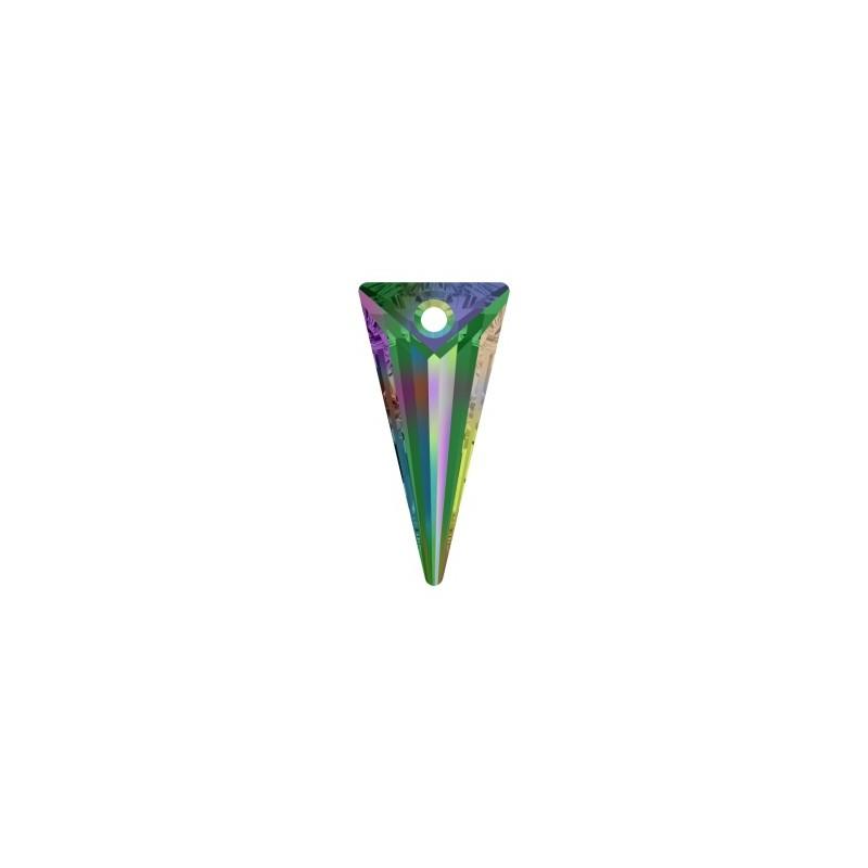 18MM Crystal Vitrail Medium P (001 VM) Spike Pendants 6480 SWAROVSKI ELEMENTS