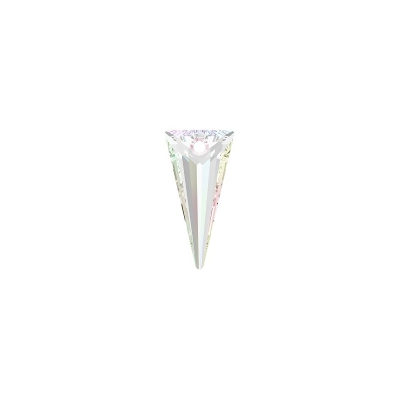 28MM Crystal AB (001 AB) Spike Ripatsid 6480 SWAROVSKI ELEMENTS